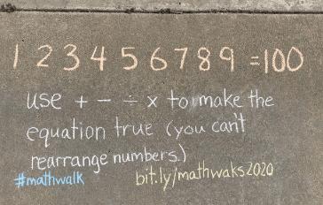 Math Walk Puzzle #1